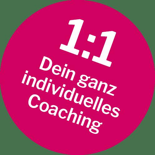 Sticker - individuelles Einzelcoaching